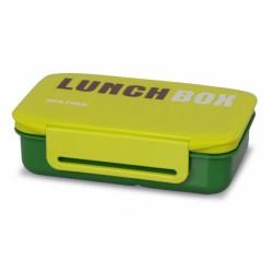 TM-98green ELDOM Promis - LUNCHBOX jednokomorový s přepážkou pro přenášení i servírování potravin, zelená