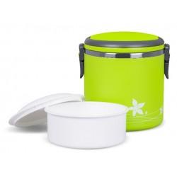 TM-180green ELDOM Promis - LUNCHBOX thermo box s objemem 1,8 litrů, se sklopným držadlem pro přenášení, zelená