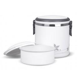 TM-180white ELDOM Promis - LUNCHBOX thermo box s objemem 1,8 litrů, se sklopným držadlem pro přenášení, bílá