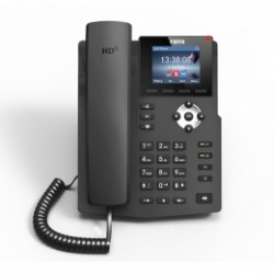 X3G Fanvil - IP telefon, 2x SIP linky, 2.8'' Color LCD 320*240, 2x RJ45 Gb, PoE