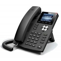 X3S Fanvil - IP telefon, 2x SIP linky, 2.4'' Color LCD 320*240, 2xRJ45 Mb, včetně adaptéru
