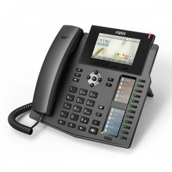 X6 Fanvil - IP telefon, 20x SIP linky, 4.3'' Color LCD 480*272, 12x BLF key, 2x RJ45 Gb, USB,POE