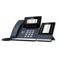"""SIP-T53W Yealink - IP telefon, 12x SIP účtů, LCD 3,7"""", 8x prog. tlačítek, POE, 1Gb/s, USB, WIFI"""