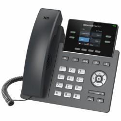 GRP-2612 Grandstream - IP telefon, barevný LCD, 2x SIP účty, 2x RJ45 Mb, 4x prog. tl., 16x BLF
