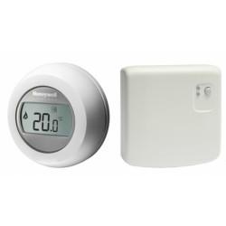 Y87RF2024 HONEYWELL - Bezdrátový digitální pokojový termostat Round s reléovou jednotkou