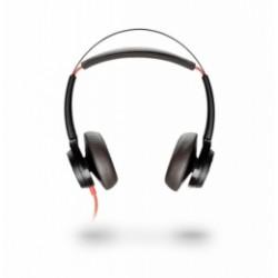 BLACKWIRE-7225-A-BL Plantronics - náhlavní souprava pro PC na obě uši, spona přes hlavu,, tl. přijmu, USB-A