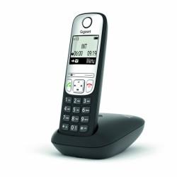 GIGASET-A690HX Gigaset - DECT/GAP přídavné sluchátko vč. nabíječky pro bezdrátový telefon, barva černá