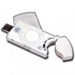 Čtečka 38-in1 kompaktní SDXC/SDHC/SD/MMC/MS/M2/XD, USB 2.0
