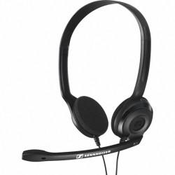 PC 3 CHAT BAZAR Sennheiser - náhlavní souprava pro počítač, na obě uši, spona přes hlavu, 2 x 3.5mm stereo jack