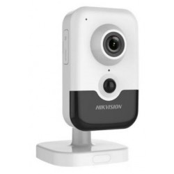 DS-2CD2483G0-IW/28 Hikvision - 8MPix IP kamera cube; ICR+IR+PIR; obj. 2,8mm +WDR + POE + WIFI