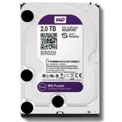 WD20PURZ WD - harddisk PURPLE WD20PURZ 2TB SATA/600 64MB cache, Low Noise
