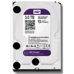 WD30PURZ WD - harddisk PURPLE WD30PURZ 3TB SATA/600 64MB cache, Low Noise