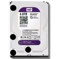 WD40PURZ WD - harddisk PURPLE WD40PURZ 4TB SATA/600 64MB cache, Low Noise