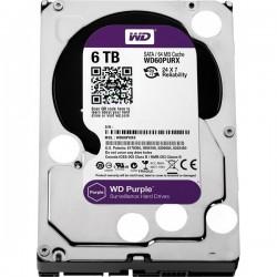 WD60PURZ WD - harddisk PURPLE WD60PURZ 6TB SATA/600 64MB cache, Low Noise
